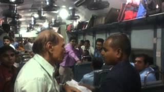 How railway TTE do their work nd take fine....