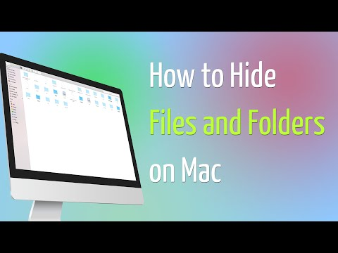 How to Hide Files and Folders on Mac