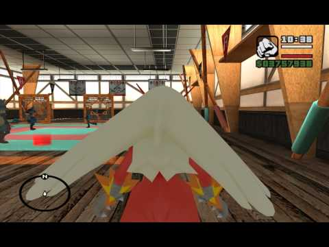 Pokemon San Andreas - Charizard VS Blaziken