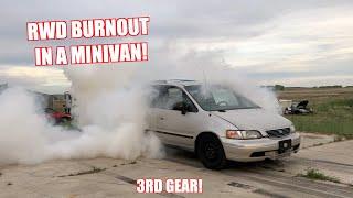 Making Our 1000Hp Minivan RWD!