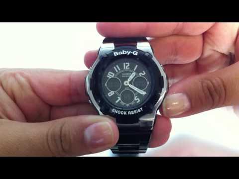 Casio Baby-G Analog Digital Watch BGA110-1B2