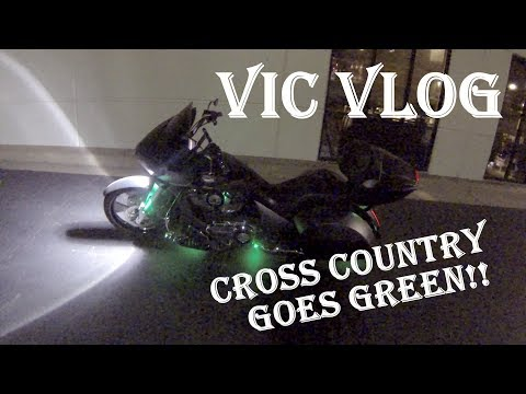 Vic Vlog | Crisis Averted | Cross Country LEDs