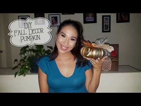DIY Mason Jar Lid Pumpkin Fall Decor