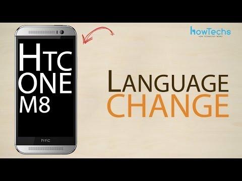 HTC One M8 - How to change language
