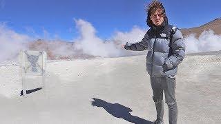 EL PLANETA SE ESTÁ QUEMANDO   Bolivia - Chile