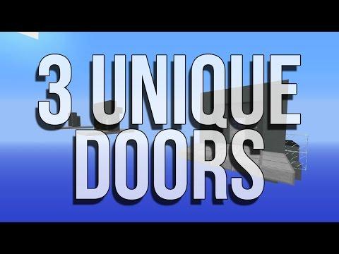 3 Fun Doors • Minecraft Survival (creation)