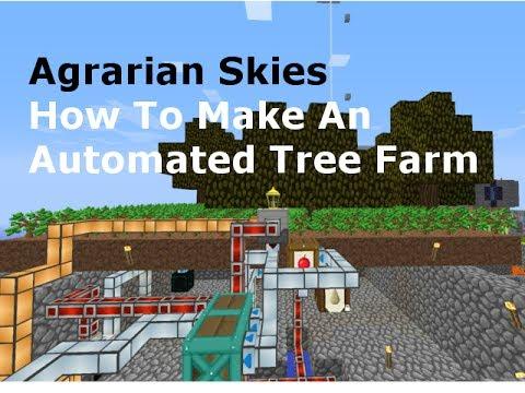 MineFactory Reloaded: How To Make An Auto-Tree Farm