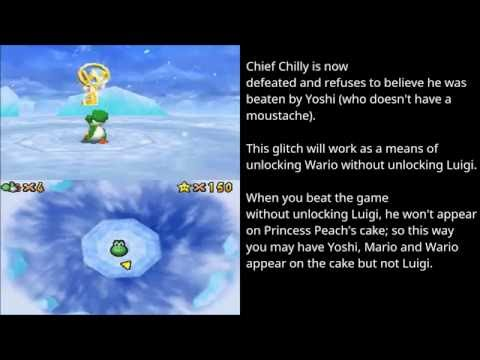 Yoshi in Chief Chilly Challenge (Super Mario 64 DS)