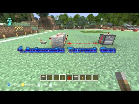 8 Cool Things To build in Minecraft Xbox360 EDITION