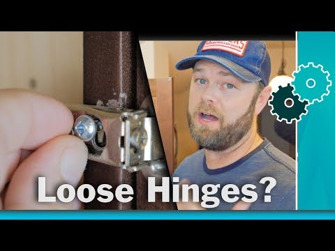 How to Fix Stripped Screw Holes - Two Easy DIY Hacks