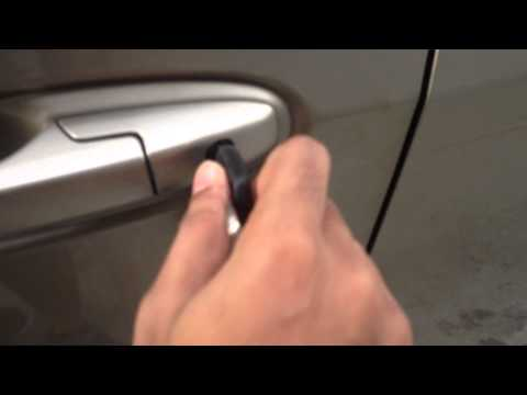 honda city 2011 car key lock jammed
