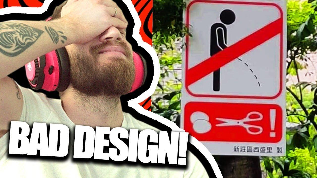 Bad Design is Hilarious! #66 [REDDIT REVIEW]