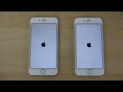 iPhone 6 iOS 8.3 Beta 3 vs. iPhone 6 Official iOS 8.2 - Which Is Faster? (4K)