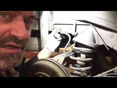 Replacing Ford Escape Brake Hoses - Mazda Tribute Brake Hoses Replace