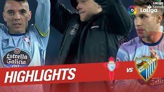 Resumen de Celta de Vigo vs Málaga CF (3-1)
