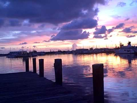 Shrimp Shack Restaurant Stock Island Key West Sunset