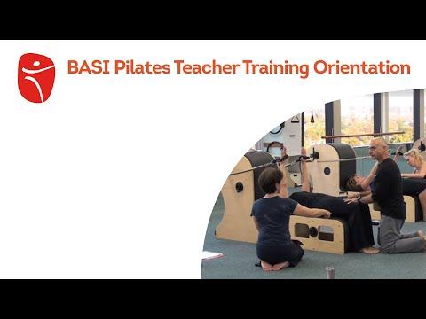 BASI Pilates Teacher Training Orientation