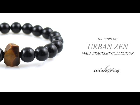 Unique Men's Bracelets | Urban Zen Series from Wishgiving | Unique Men's Jewelry