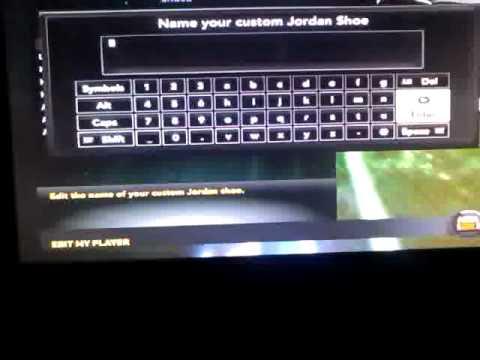 NBA 2k11- My Signature Jordan Shoe!