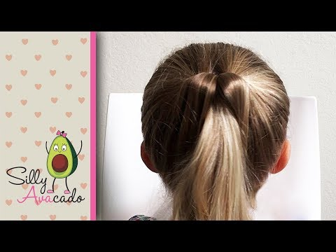 Topsy Tail Review 💜  Cute Girl Hairstyles for Toddler Girls - Pretty Ponytails!