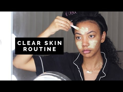 EASY 4-STEP SKINCARE ROUTINE FOR ACNE ✨