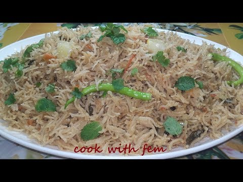 Simple Pulao Recipe