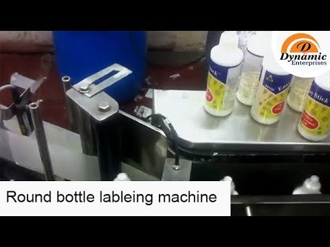Round bottle lableing machine for glue bottle and any type of bottle