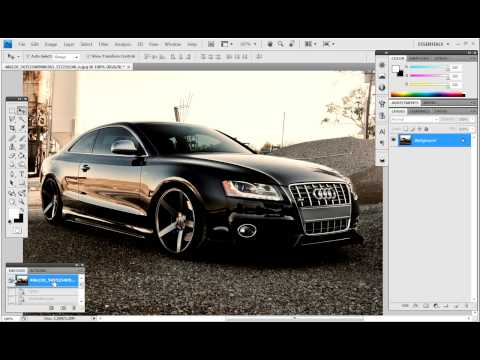 Photoshop cs4 tutorial - edit pictures how to make quality better and look good