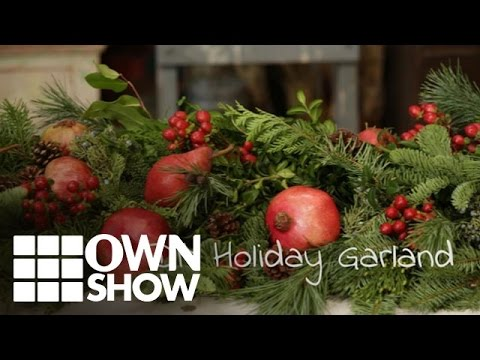 DIY: Create a Lush Garland with Affordable Fruits and Tree Trimmings | #OWNSHOW | Oprah Online