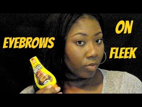 EYEBROW ROUTINE   How To Get Those Eyebrows On Fleek!
