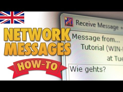 How to send messages on the local network [English]