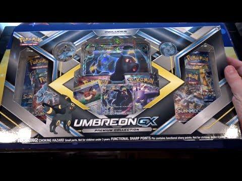 Pokemon Umbreon GX Premium Collection Unboxing