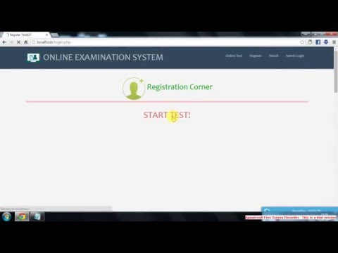 PART - I Online Examination System - The first Step