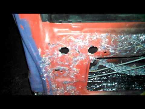 Replacing the exterior door handles on an 89 S10 Blazer