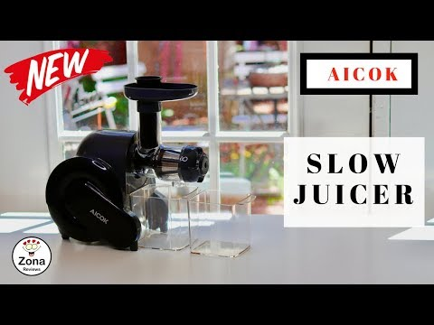 😍 AICOK   ❤️   Slow Juicer - Review  ✅