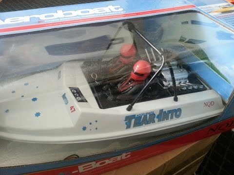 NQD RC Jet Boat Unboxing RTR