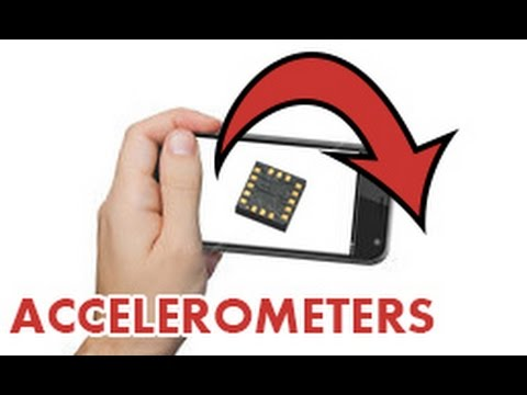 How an accelerometer works!