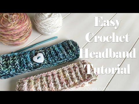 Easy Crochet Headband Tutorial Beginner Friendly Getpla