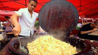 Download Muslim Chinese Street Food in Shanghai!! HALAL XINJIANG Market Street Food in CHINA! Video