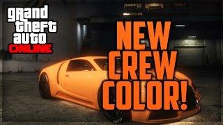 GTA 5 Online Modded Crew Color Showcase #7