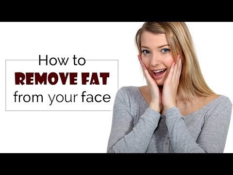 How to remove fat from your face | fat to fit | face fat lose | exercise