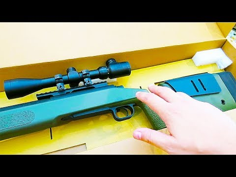 UNBOXING The BEST CALL OF DUTY SNIPER RIFLE of ALL TIME!