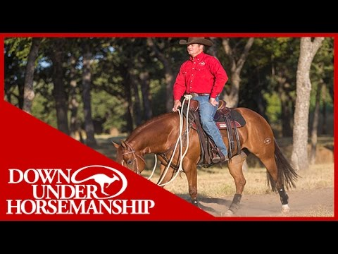 Clinton Anderson: How to Correct a Barn-Sour Horse - Downunder Horsemanship
