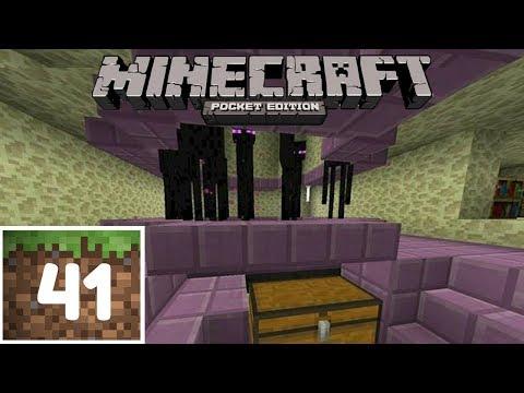 Minecraft PE ITA - #41 - FARM DI ENDERMAN! Ender pearl e esperienza infinite