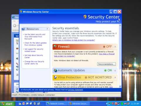 How to Connect Wireless Network windows xp