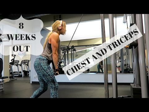 BIKINI PREP. Ep.5 | CHEST AND TRICEP WORKOUT