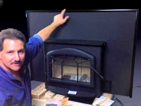 Napoleon 1100P wood burning insert