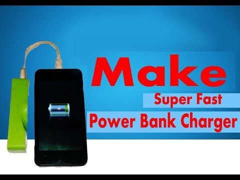 Power bank - How to make 1200mah power bank charger