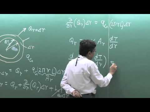 Lecture 08: 1D Steady State Heat Conduction In Cylindrical Geometry