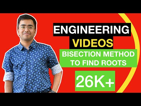 Bisection Method to find roots(In Hindi)